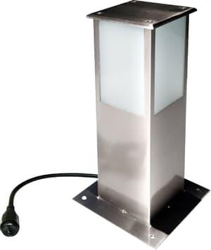 Lichtturm Inox 30 cm