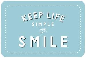 Smile bedruckt