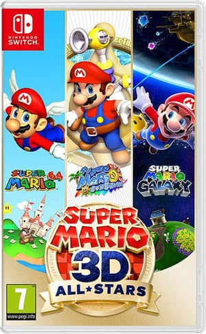 NSW - Super Mario 3D All-Stars