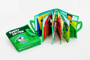 Quiet Book Stoffbuch Bunny Edition