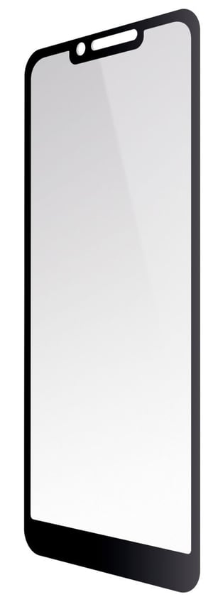 Vetro temperato Printed Black Frame trasparente