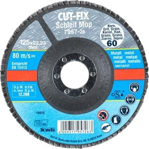 CUT-FIX® Disque abrasif, pour le métal, ø 125 mm, K60
