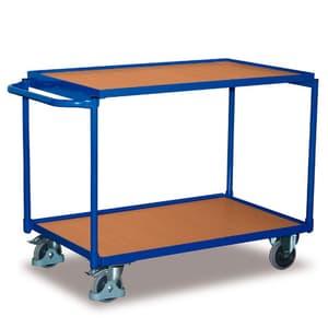Carrello con tavolo 2 piani 250 kg
