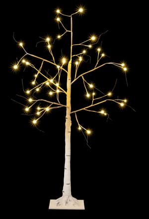LED albero luminoso bianco, 180 cm