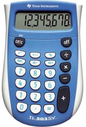 Grundrechner TI-503SV 8-stellig