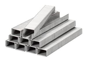 Klammern, Feindraht, Stahl, 11,4 mm x 6 mm
