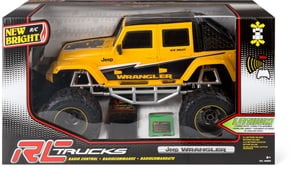RC Jeep, gelb