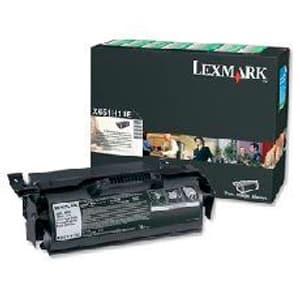 LEXMARK Toner-Modul HY return T650H11E, schwarz
