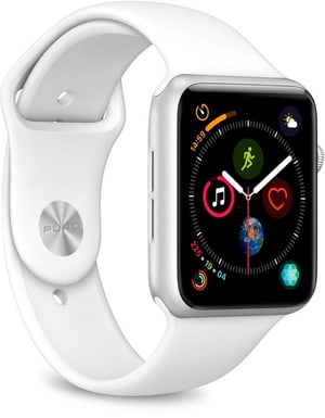 Icon Silicone Band - Apple Watch 42-44mm - white