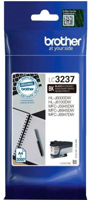 cartuccia d'inchiostro LC-3237BK black