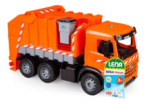 GIGA TRUCKS Müllwagen Arocs + Aufkleber