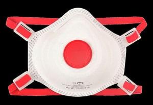 TECT - Masque FFP3 avec valve (paquet de 2)
