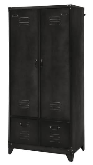 Armoire métallique 2 portère/2 tiroir RMS9941B