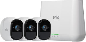 PRO Sistema di sicurezza con 3 telecamere HD
