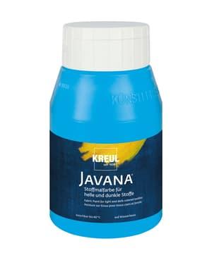 KREUL Javana Stoffmalfarbe für helle und dunkle Stoffe Hellblau 500 ml