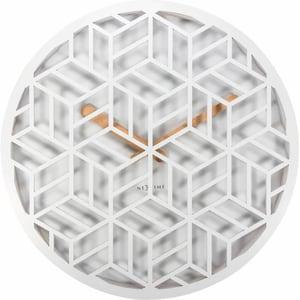 Horloge Murale Discrète Diamètre Blanc
