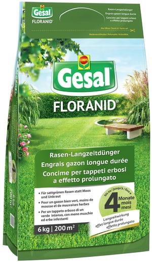 FLORANID Concime per tappeti erbosi a effetto prolungato, 6 kg