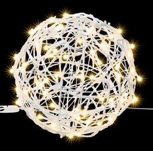 LED Connect Metal ball Ø 20 cm