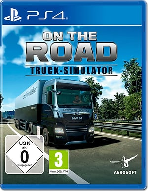 PS4 - On the Road - Truck Simulator D