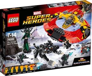 Marvel Super Heroes La bataille suprême pour la survie d'Asg 76084