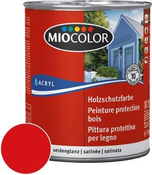 Pittura protettiva per legno Rosso falun 750 ml