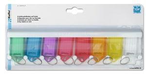 Etichette colori diversi, 8 pezzi