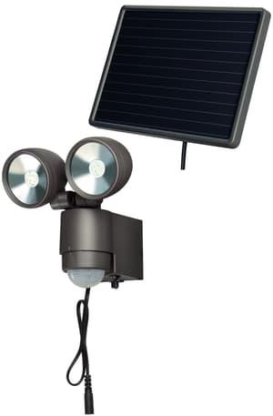 Solar LED Spot SOL 2x4 IP 44con rilevatore di movimento ainfrarossi.Per uso esterno, 44 ° IP