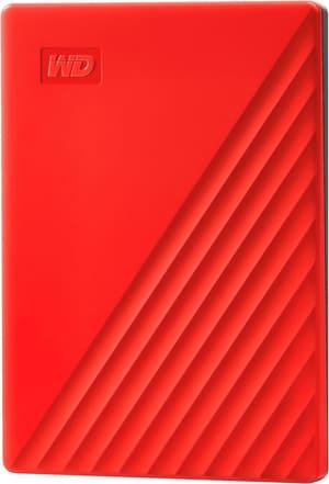 My Passport 4TO, rouge