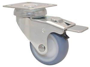 Ruota orientabile D50 mm con fermo