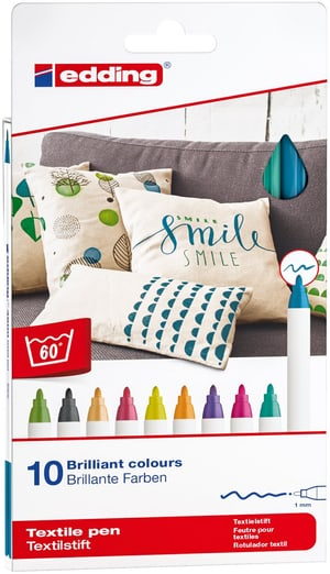 Textilstift 4600 E-10 Fun