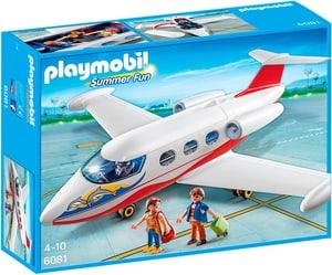 PLAYMOBIL 6081 Summer Fun Avion avec pilote et touristes