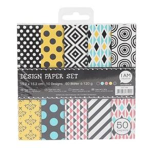 Paper Set II,15.2X15.2CM, 50 Foglie