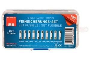 Feinsicherungs-Set 5x20mm Flink