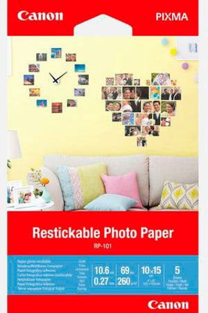 RP-101 restickable photo paper matt