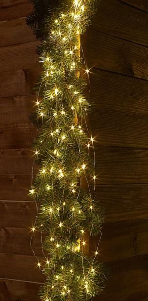 LED Angel Hair 300, twinkling