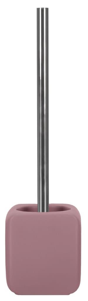 WC-Bürstengarnitur Cubic Beere