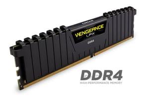 mémoire vive (RAM) Vengeance LPX noir 2x 8Go DDR4 2666 MHz