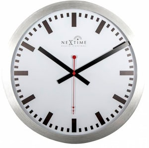 Horloge murale RCC blanc diam