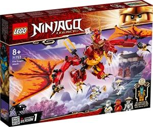 NINJAGO L'attaque du dragon de feu 71753