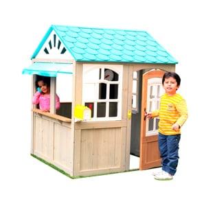 Faltbares Spielhaus blau