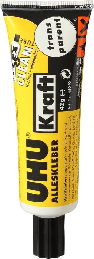 Colla universale trasparente Kraft Flex & Clean in tubetto