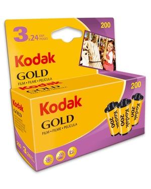 Gold 200 135/ 24 Dreierpack Film