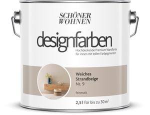 Designfarbe Weiches Strandbeige 2,5 l