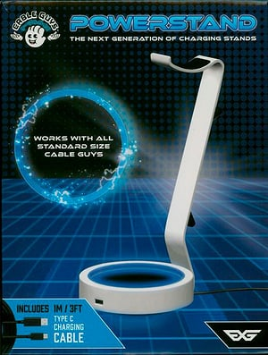 Power Stand Ladestation - White - PS5 Design- Cable Guy