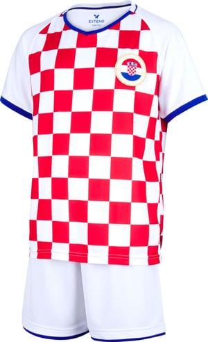 Completo da tifoso della Croazia