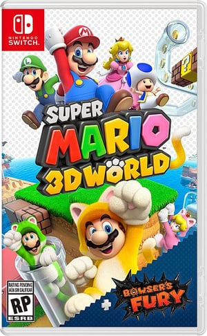 NSW - Super Mario 3D World + Bowser's Fury