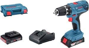 GSR 18V-21, 2 batteries & L-Case