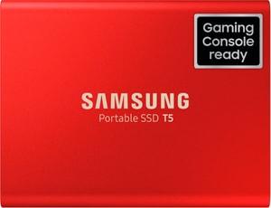 Portable SSD T5 500GB Metallic Red