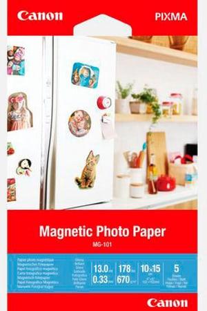 MG-101 papier glacé photographique magnétique