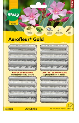 Aerofleur Gold Sticks, 20 Stück